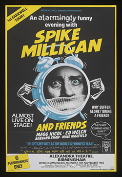 Megg Nicol and Spike Milligan